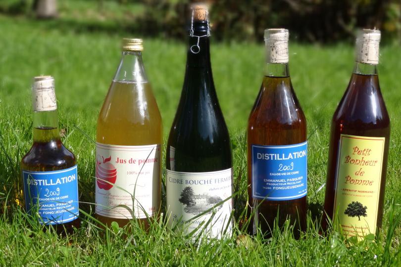 Produits Cidre Emmanuel Pasquier